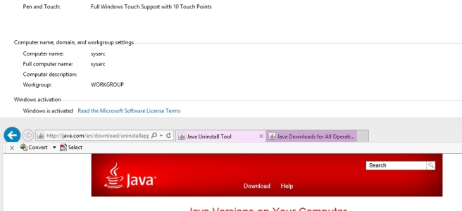 download java uninstall tool for windows